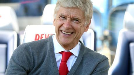 Prägte beim FCArsenal inLondon eine Ära: Trainer Arsène Wenger.