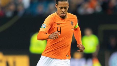 Hat großen Anteil am Erfolg der niederländischen Fußball-Nationalmannschaft: Virgil van Dijk.