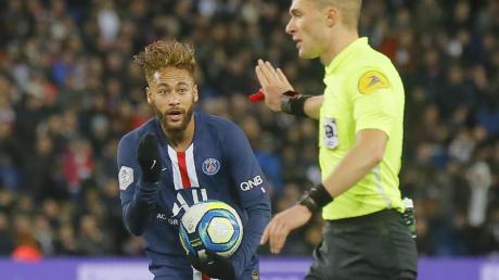 Gab sein Comeback im PSG-Trikot: Neymar.