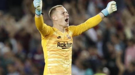 Marc-André ter Stegen ist beim FC Barcelona die Nummer eins im Tor.