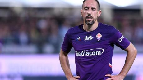 Frank Ribéry hat sich beim Spiel gegen den US Lecce am Knöchel verletzt.