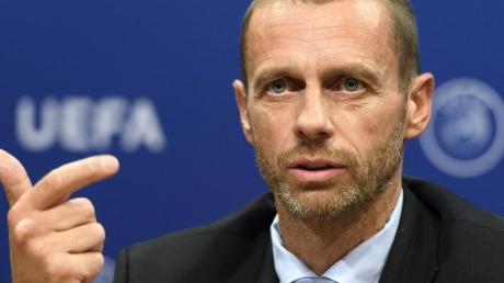 Will in den europäischen Wettbewerben die Abseitsregel ändern: UEFA-Präsident Aleksander Ceferin.