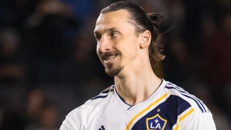 Sorgt wieder für Schlagzeilen: Der schwedische Stürmerstar Zlatan Ibrahimovic.