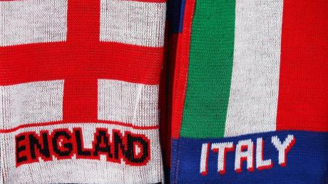 Treffen vor der EM in einem Testsiel aufeinander: England und Italien.