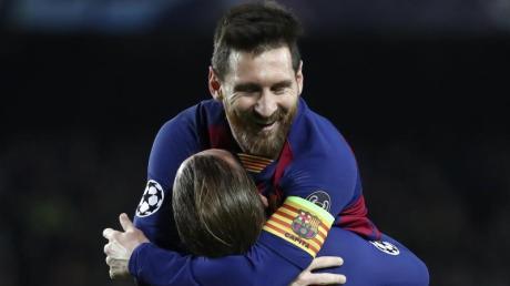 Lionel Messi wird gegen Inter fehlen.