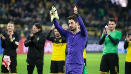 Dortmunds Torhüter Roman Bürki war der Held.