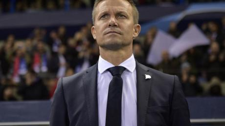 Trainer Jesse Marsch will mit RB Salzburg die Europa League gewinnen.
