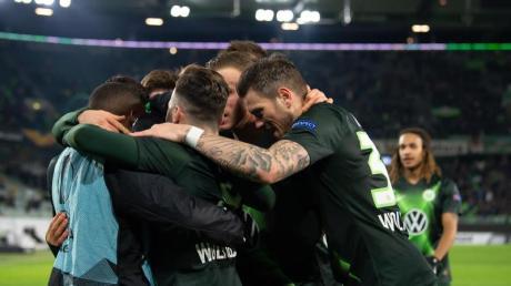 Der VfL Wolfsburg siegte daheim knapp gegen St. Etienne.