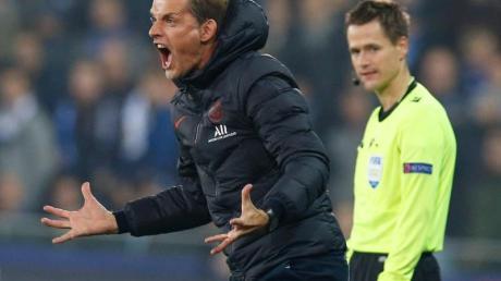PSG-Trainer Thomas Tuchel gewinnt mit seiner Mannschaft die Auswärtspartie in Saint-Etienne mit 4:0.