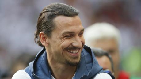 Zlatan Ibrahimovic spielt wieder für den AC Mailand.