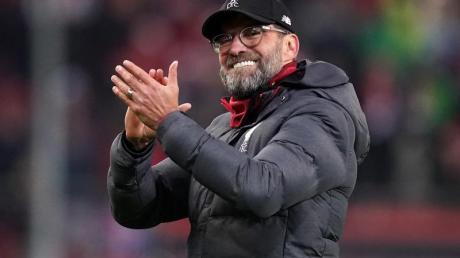 Machte erkrankte Kinder zur Weihnachtszeit sehr glücklich: Liverpool-Coach Jürgen Klopp.