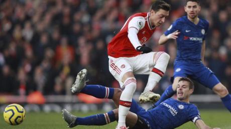Mesut Özil ist beim FC Arsenal wieder gesetzt.