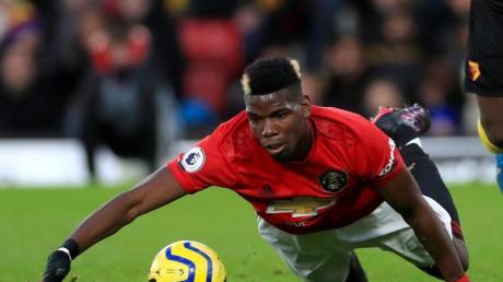 Muss wohl am rechten Fuß operiert werden: Paul Pogba von Manchester United.