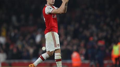 Hatte beim FC Arsenal um die Freigabe für einen Wechsel gebeten: Granit Xhaka.