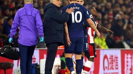 Tottenham muss vorerst auf Harry Kane verzichten.