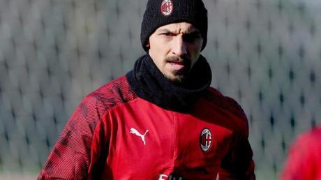 Konnte seinen Einstand beim AC Mailand nicht mit einem Tor kronen: Rückkehrer Zlatan Ibrahimovic.