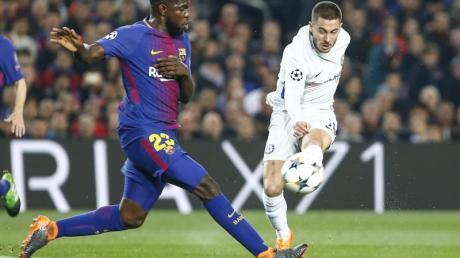 BeimFC Barcelona offenbar auf dem Abstellgleis: Samuel Umtiti.