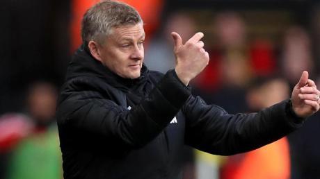 Ole Gunnar Solskjaer ist der Trainer von Manchester United.