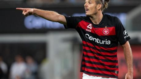 Hat die Western Sydney Wanderers wieder verlassen: Stürmer Alex Meier.