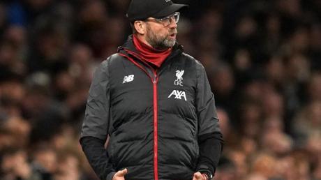 Verstimmt: Liverpool-Coach Jürgen Klopp.