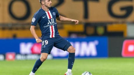 Paris Pablo Sarabia hat in der Pokalpartie gegen den FCLorient das Tor des Tages erzielt.