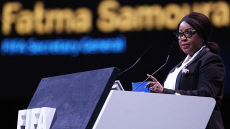 Fatma Samoura ist Generalsekretärin des Weltfußballverbandes FIFA.