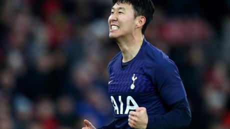 Heung-Min Son hatte die Spurs in Führung geschossen.