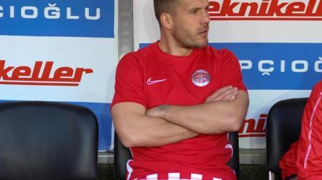 Wurde beim Pokalspiel von Antalyaspor gegen Sivasspor nicht eingewechselt: Lukas Podolski.