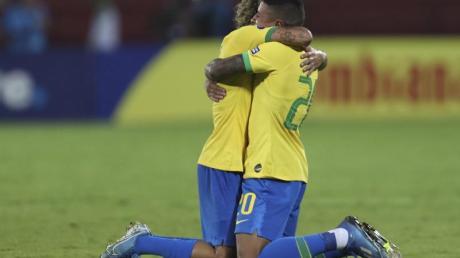 Das U23-Team aus Brasilien hat sich für die Olympischen Spiele in Tokio qualifiziert.