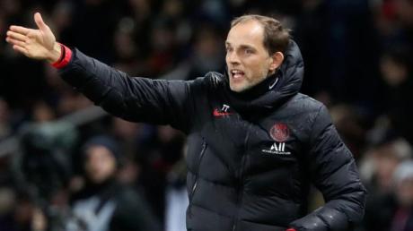 Viertelfinale Champions League: Trainer Thomas Tuchel steht vor keiner leichten Aufgabe. Wer überträgt das Viertelfinalspiel zwischen Bergamo und PSG live in TV oder Stream aus Lissabon?