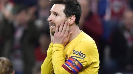 Äußerte sich kritisch gegen Barca-Sportdirektor Eric Abdial: Superstar Lionel Messi.