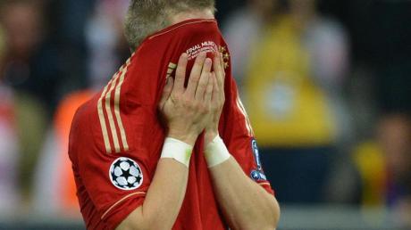 Bastian Schweinsteiger wurde 2012 im «Finale dahoam» zur tragischen Figur.