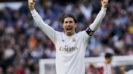 Möchte gern für Spanien an den Olympischen Spielen in Tokio teilnehmen: Sergio Ramos.