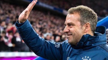 Bayern-Trainer Hansi Flick bekommt viel Lob.