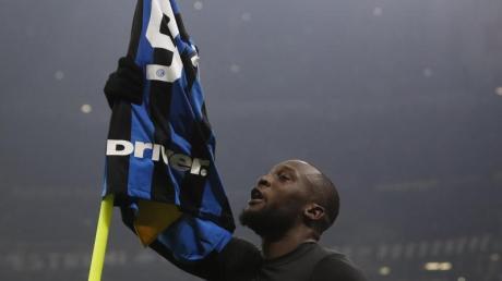 Inter Mailands Stürmer Romelu Lukaku wird in der Europa League vor leeren Rängen spielen müssen.