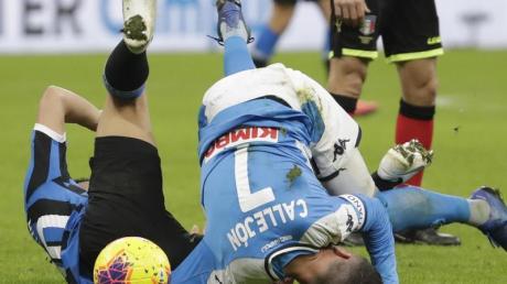 Das Rückspiel im italienischen Pokal zwischen SSC Neapel und Inter Mailand wurde verschoben.