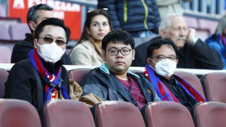 Beim Heimspiel des FC Barcelona werden keine Zuschauer sein.