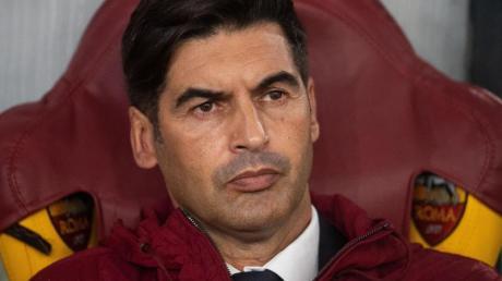 Roms Trainer Pauol Fonseca wird mit seinem Team aufgrund der Coronavirus-Sperren nicht nach Sevilla reisen.