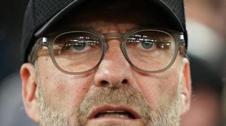 Liverpools Trainer Jürgen Klopp war nach dem Champions League-Aus gegen Athletico Madrid maßlos enttäuscht.