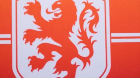 Logo des Fußballverbandes der Niederlande, KNVB.
