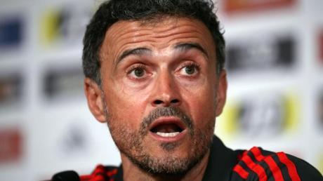 Spaniens Fußball-Nationaltrainer: Luis Enrique.