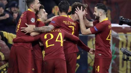 Die Spieler von AS Rom hoffen auch, dass bald wieder der Ball rollt.