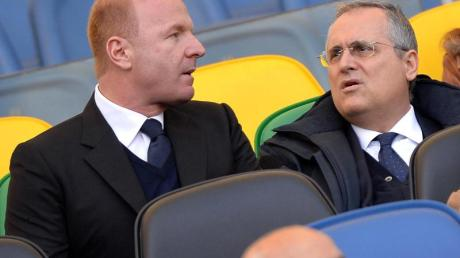 Ist sehr besorgt über die Lage in Italien:Lazio-Sportdirektor Igli Tare.