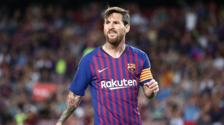 Verzichtet wie auch sein Barça-Teamkollegen auf ein Großteil seines Gehaltes: Lionel Messi.