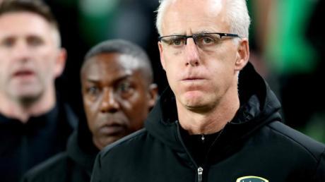 Ist nicht mehr Trainer von Irlands Fußball-Nationalmannschaft: Mick McCarthy.