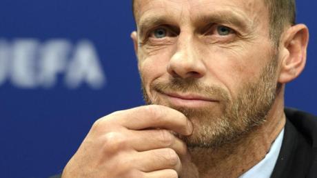 Glaubt fest an den Meistertitel vom FCLiverpool:UEFA-Präsident Aleksander Ceferin.