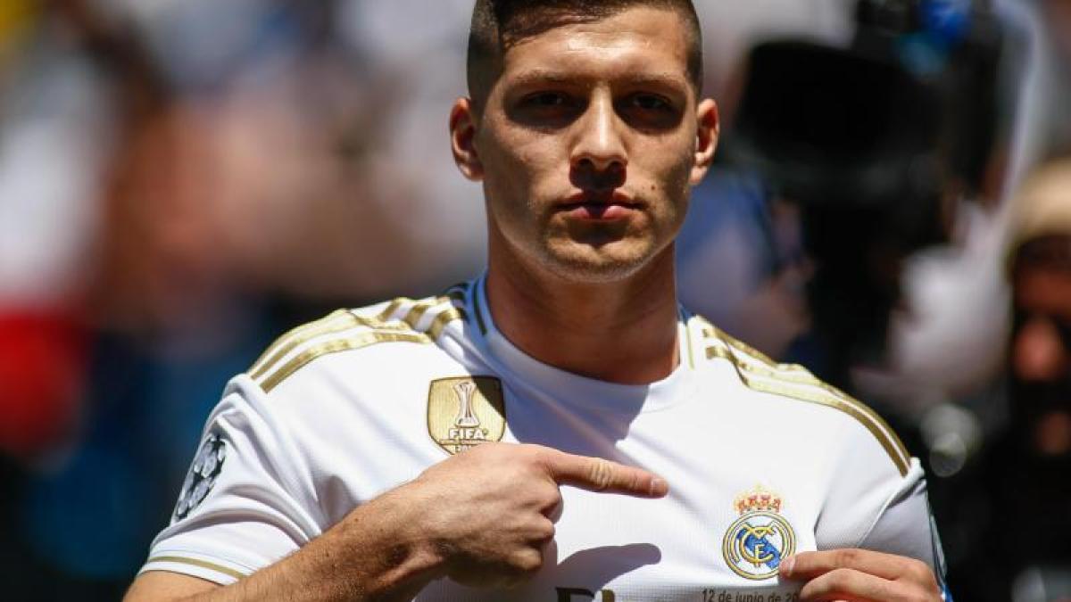 Ex-Frankfurter: Reals Jovic verletzt sich während Corona