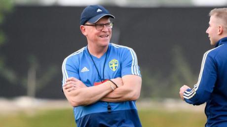 Janne Andersson verlängerte seinen Vertrag als schwedischer Fußball-Nationaltrainer.