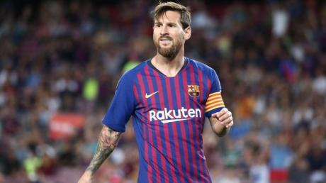 Auch Barcelonas Superstar Lionel Messi vermisst die Fans im Stadion.