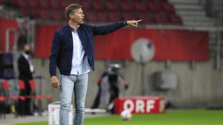 Salzburg-Trainer Jesse Marsch wurde als Nachfolger von Lucien Favre beim BVBins Gespräch gebracht.